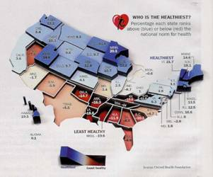 Home Page Of St Martin Systems Inc - Map of health education in us